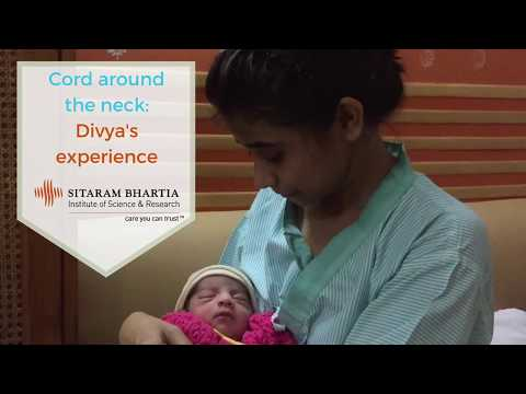 Cord around the neck - Divya's experience of Normal Delivery
