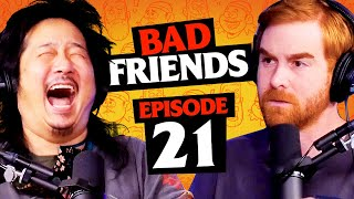 Bye Bye Brits | Ep 21 | Bad Friends with Andrew Santino and Bobby Lee