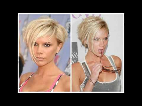 Short stacked bob haircut pictures back