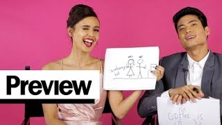 Download Megan Young and Mikael Daez Play The Newlywed Game   Perfect Match   PREVIEW Video
