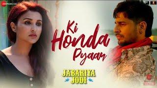 Dil tuta ve | Arijit Singh | Jabariya Jodi | Siddharth Malhotra | Parineeti Chopra |New Song 2019