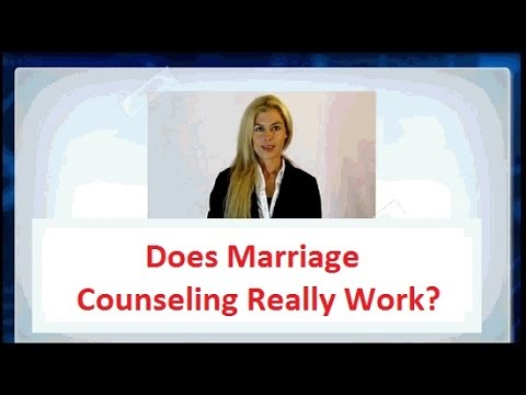 Does Marriage Counseling Really work? -► Find out the Truth!