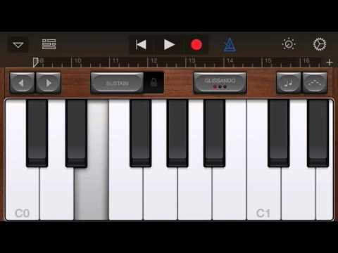 How to make an change the pitch of your snare drum in GarageBand for iOS