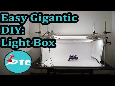 How to Make a Cheap DIY Photo Light Box!!