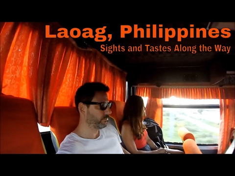 Philippines, Laoag: Sights and Tastes Along the Way (A Long & Winding Road)