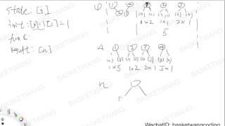 Leetcode : 96 Unique Binary Search Trees 讲解(完整视频地址