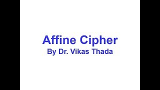 affine+cipher Videos - 9tube tv
