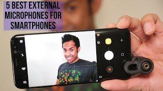 5 Best External Microphones for Smartphones