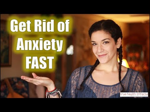 How to STOP ANXIETY Fast (Easy Technique!) - Stress Relief / EFT / Tapping