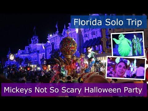 Day 10 | Mickeys Not So Scary Halloween Party Magic Kingdom | Walt Disney World solo | Florida 2017