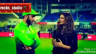 Girl flirting with Usman khan shinwari