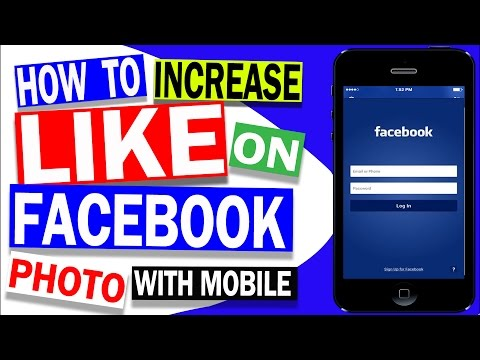Get AUTOMATIC Like and Comments On Facebook's Photos | MOBILE Tutorial