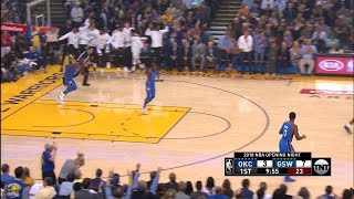 1st Quarter, One Box Video: Golden State Warriors vs. Oklahoma City Thunder