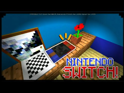 MCPE 1.2 | How To Make a Nintendo Switch! | Armor Stand creation