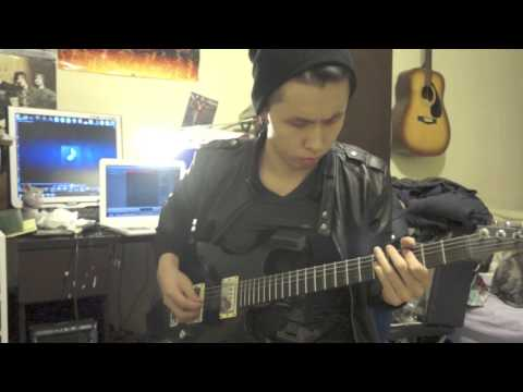 (WITH TABS!!)Bullet for my Valentine- Riot GUITAR COVER  *new song 2012!!