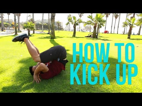Learn How to Kick Up / Kip Up | Beginner Breaking Tutorial