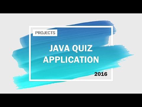 Java Quiz Application (Disney Characters)