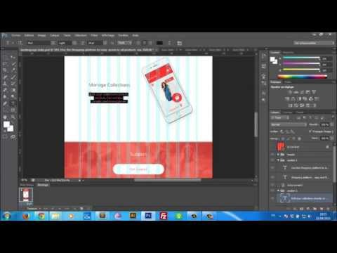 Landing page design Tutorial [PSD+Bootstrap+Jquery animations]