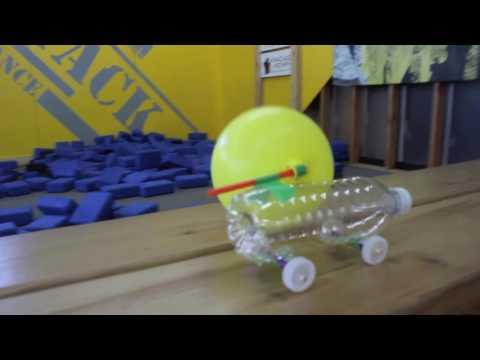 Take Home Science: Balloon Car