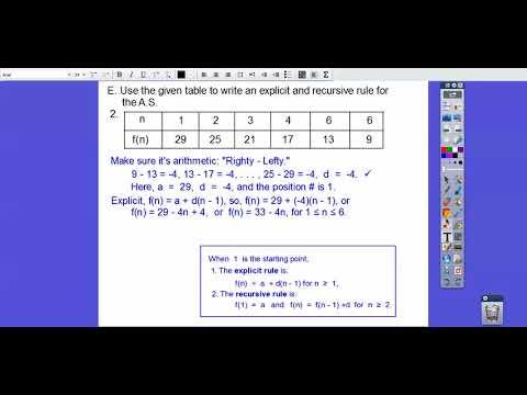 Arithmetic Sequences - Module 12.1 (Part 1)