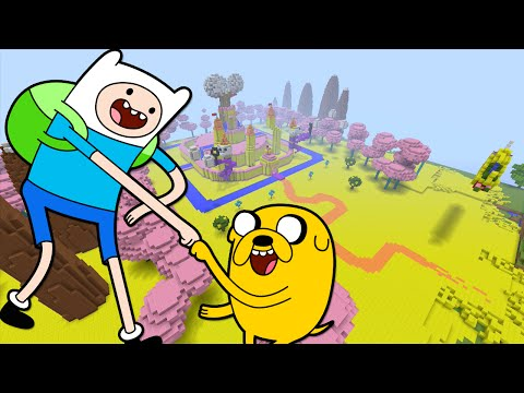 Minecraft Xbox - Adventure Time - Hunger Games