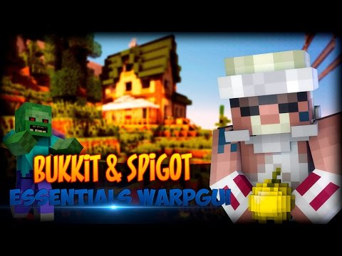 Descarga E Instala Plugin Essentials Warp Menu (GUI) Bukkit   SpigotMC