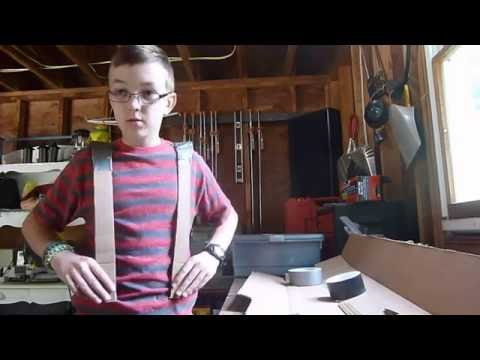 How to Make Cardboard Armor MUST SEE ENDING!! Link to revisit in descrtiption