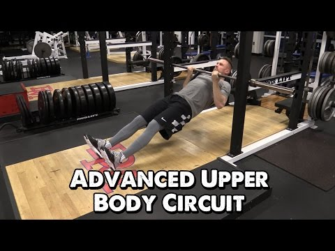 Advanced Upper Body Circuit for Basketball Part 1