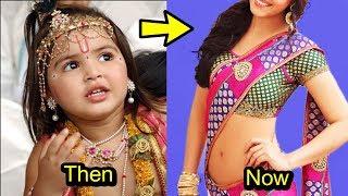 """'Jai Shri Krishna' Child Actress """"Dhriti Bhatia"""" Shocking Transformation"""