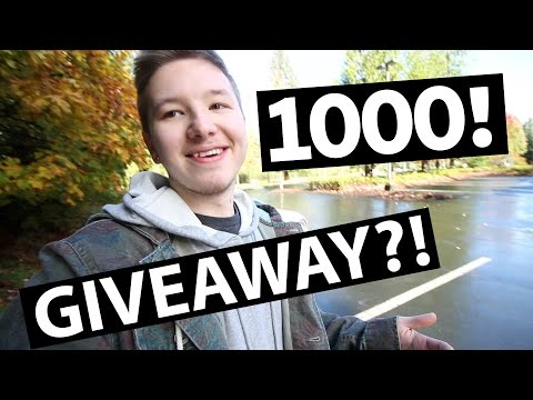 1000 SUBSCRIBERS - THANK YOU