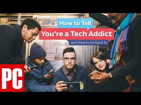 How to Tell If You're a Tech Addict (and What to Do About It)