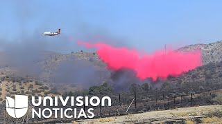 Incendios forestales no dan respiro en California