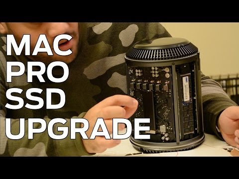 How to Upgrade the Mac Pro SSD Storage