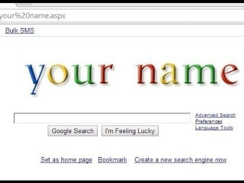 How To Place your Name In Google Search Engine || how to change google name on android hindi/urdu