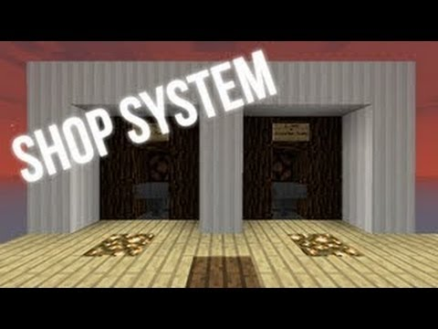Minecraft 1.11: Best Shop System Tutorial