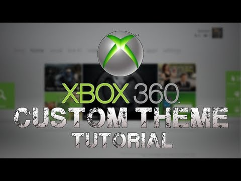 How to Put Custom Themes on XBOX 360 tutorial *Horizon 2012*