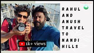Nandi Hills Travel Video | KGF to Nandi Hills | Early Morning trek to Nandi Hills