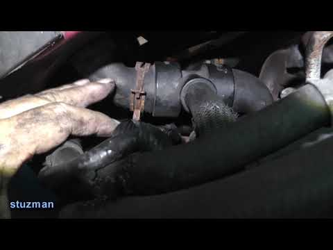 Ford Escape, Removal of Coolant Pipes, Distribution Housing, Thermostat Housing and Hoses - Part 1