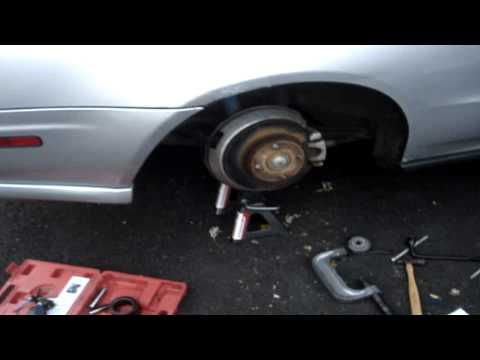 Ball Joint Removal 95 honda prelude