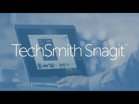 TechSmith Snagit 2018 - Upgrade Video
