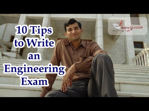 10 Tips to Write an Engineering Exam ( Hindi / Urdu) - Mr. Raj Kumar Thenua