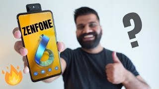 Asus Zenfone 6 Hands On & First Look - Crazy Package 🔥🔥🔥