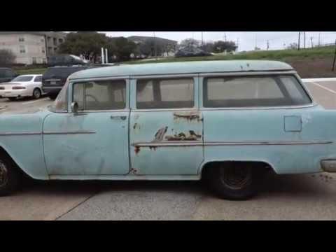 1955 Chevy BelAir Wagon