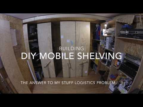 :Building: DIY Mobile Shelving