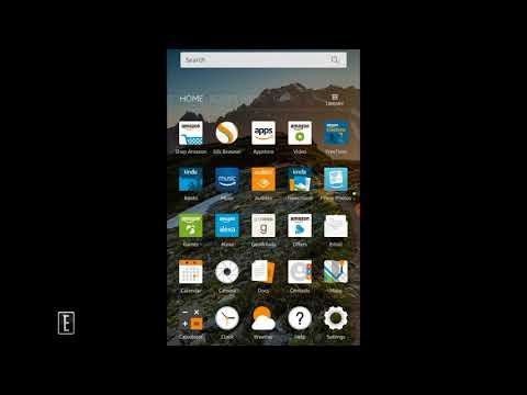 How to Sideload Apk's on Amazon Fire 7 with Alexa