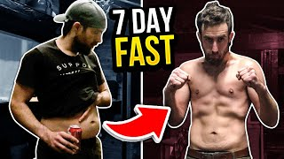 Wildman tries a 7 day fast. This is the story of what happened.