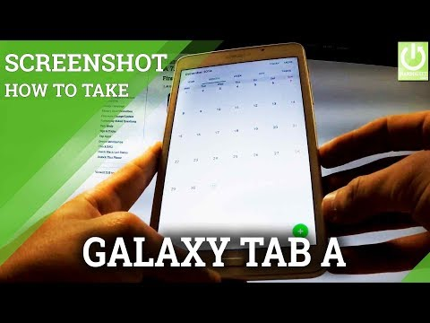 How to Take Screenshots on SAMSUNG T280 Galaxy Tab A 7.0 (2016)