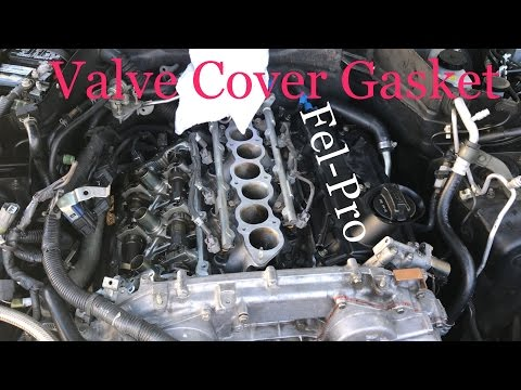 G35 / VQ35DE- HOW TO replace valve cover gasket