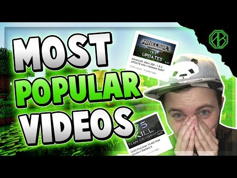 REACTING TO MY MOST VIEWED VIDEOS?!