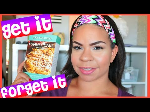GET IT OR FORGET IT: DOLLAR TREE EDITION | COOL CREATIONS FUNNEL CAKE BATTER MIX | Sensational Finds